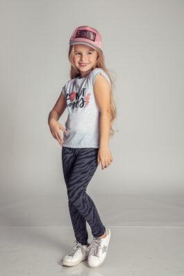 טייץ ארוך דמוי ג'ינס
