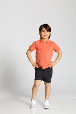 חולצת פולו שרוול קצר